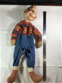 Early Howdy Doody Doll mouth and eyes move.