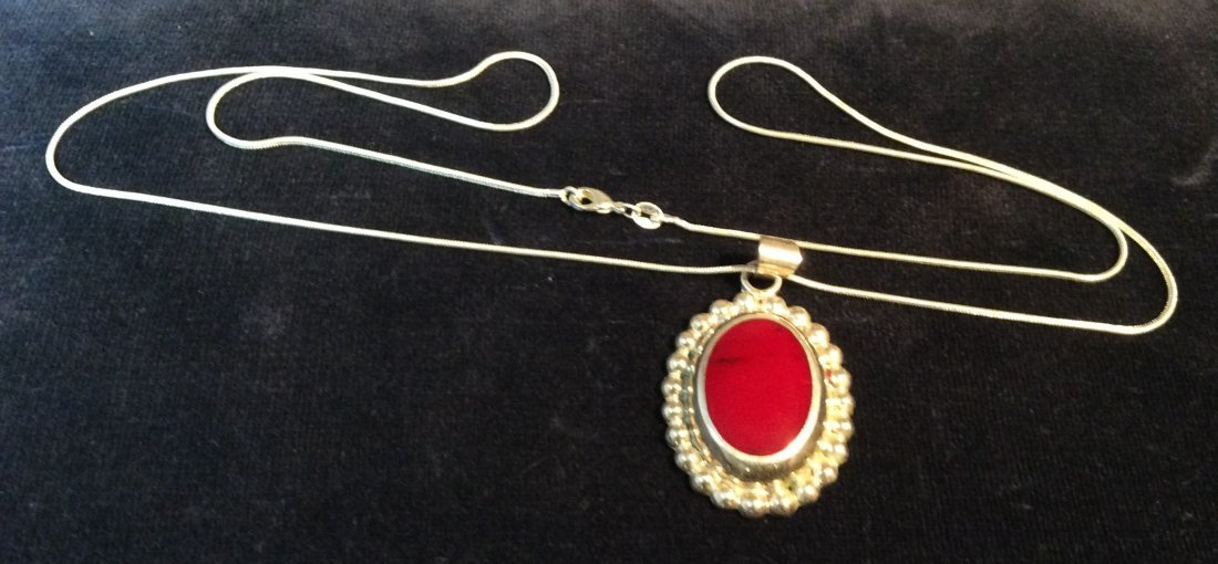 Sterling Chain & Pendant