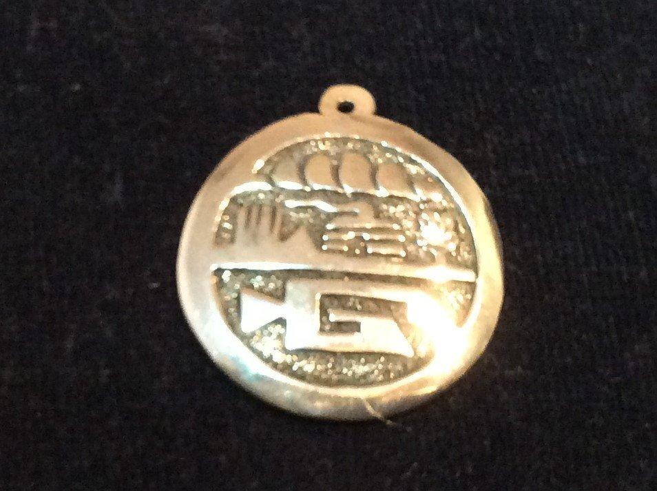 Hieroglyphic pendant