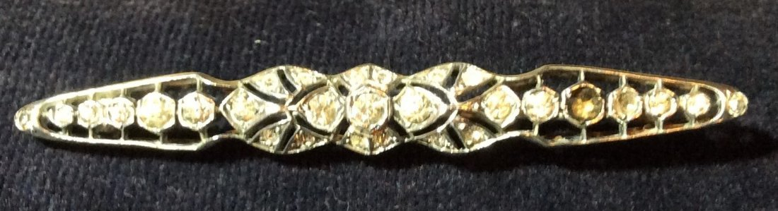 Sterling Bar pin