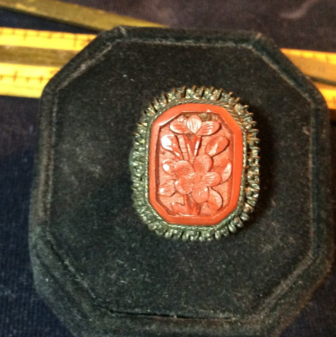 Red Stone Ring