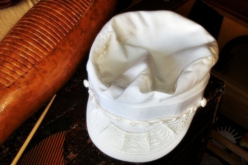 Greek Fisherman's Cap, Hat size 57-71/8. Movie Prop