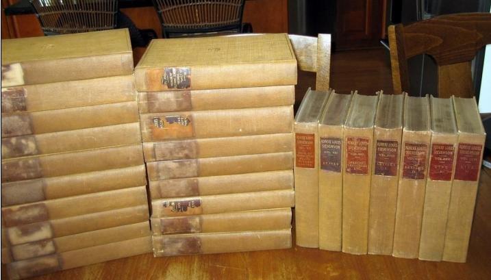 Robert Louis Stevenson Complete Works 26 Volumes 1895