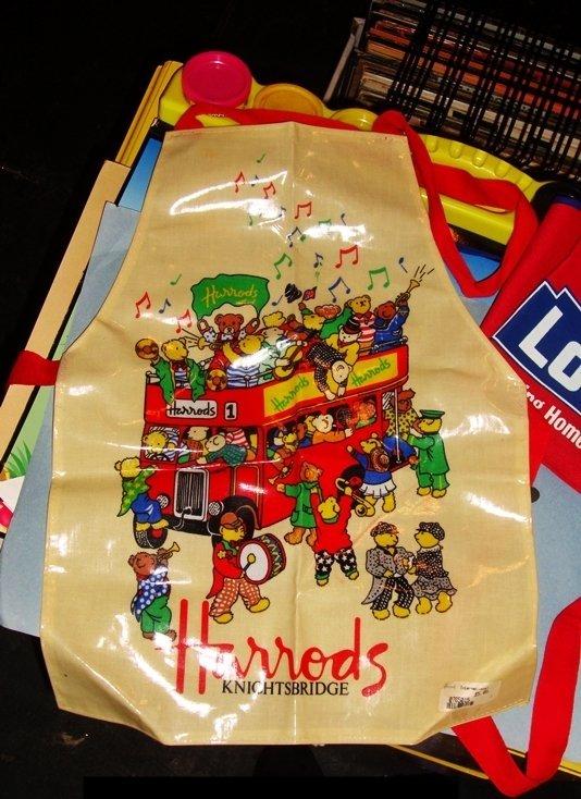 Child's Harrods Knightsbridge Apron, Rare Item