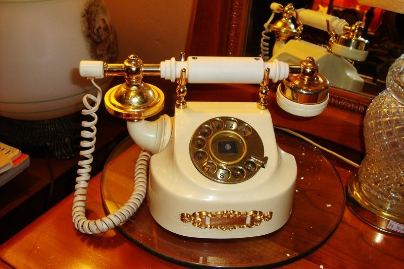 Vintage Old Phone, Antique Style, Upgraded to current