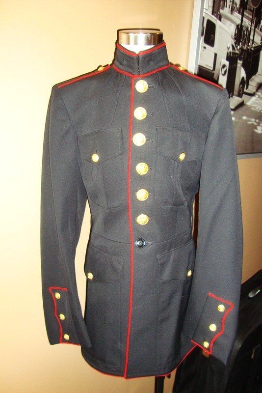 US ARMY NAVY DRESS JACKET, MENS COAT size 36