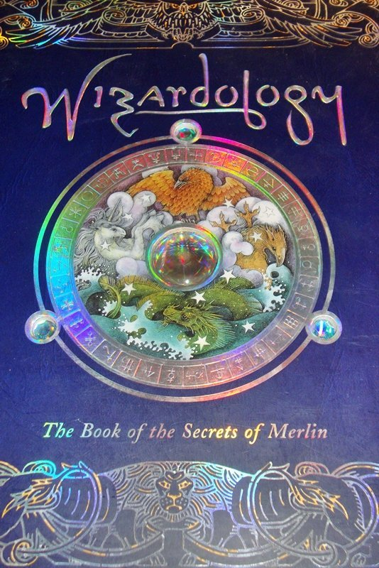 Wizardology: The Book of the Secrets of Merlin, NEW