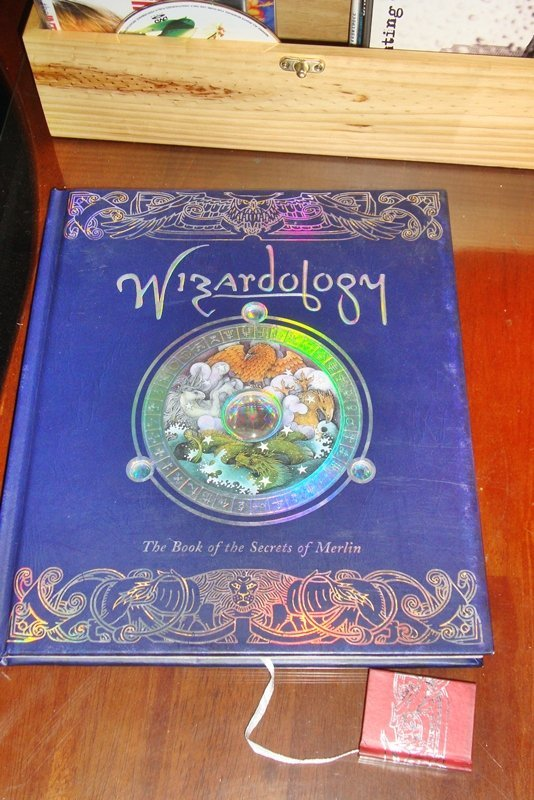 Wizardology: The Book of the Secrets of Merlin, NEW - 2