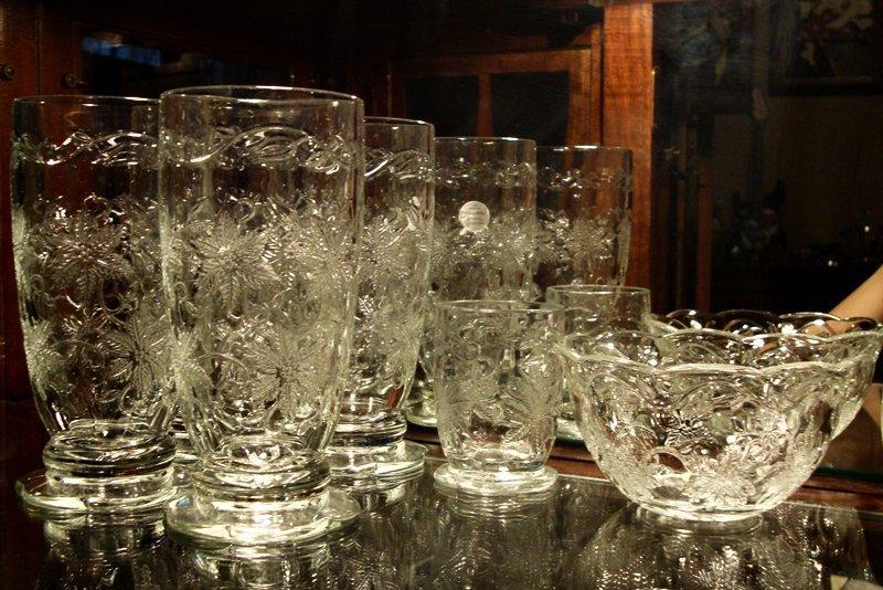7 pc. Lot of PRINCESS HOUSE FANTASIA Glassware