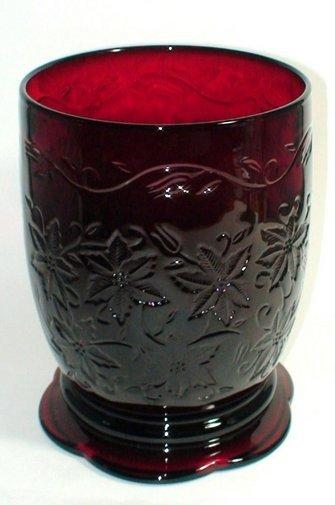 PRINCESS HOUSE FANTASIA Vase Candle Holder Ruby Red
