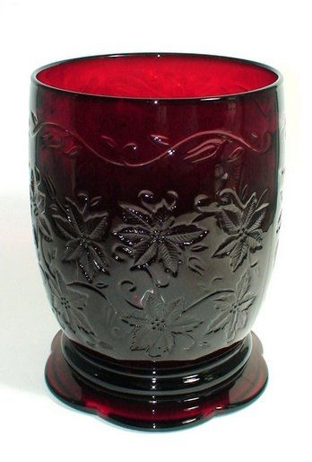 PRINCESS HOUSE FANTASIA Vase Candle Holder Ruby Red - 4