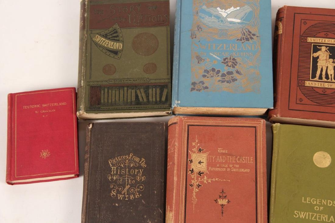 GROUP OF 10 PAPER BACK BOOKS RELATING TO SWITZERLAND - 3