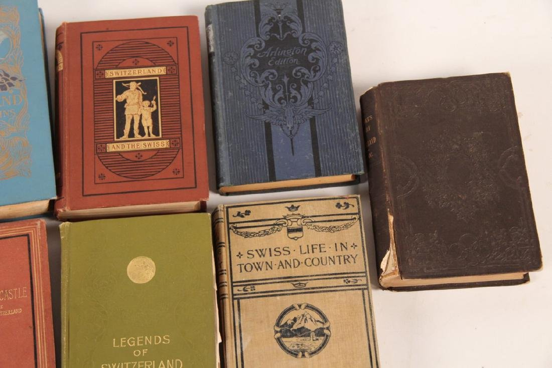 GROUP OF 10 PAPER BACK BOOKS RELATING TO SWITZERLAND - 4