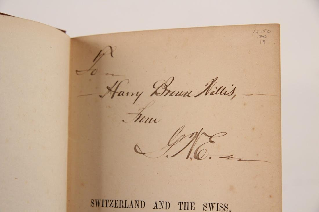 GROUP OF 10 PAPER BACK BOOKS RELATING TO SWITZERLAND - 5