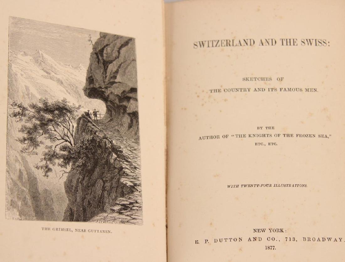 GROUP OF 10 PAPER BACK BOOKS RELATING TO SWITZERLAND - 6