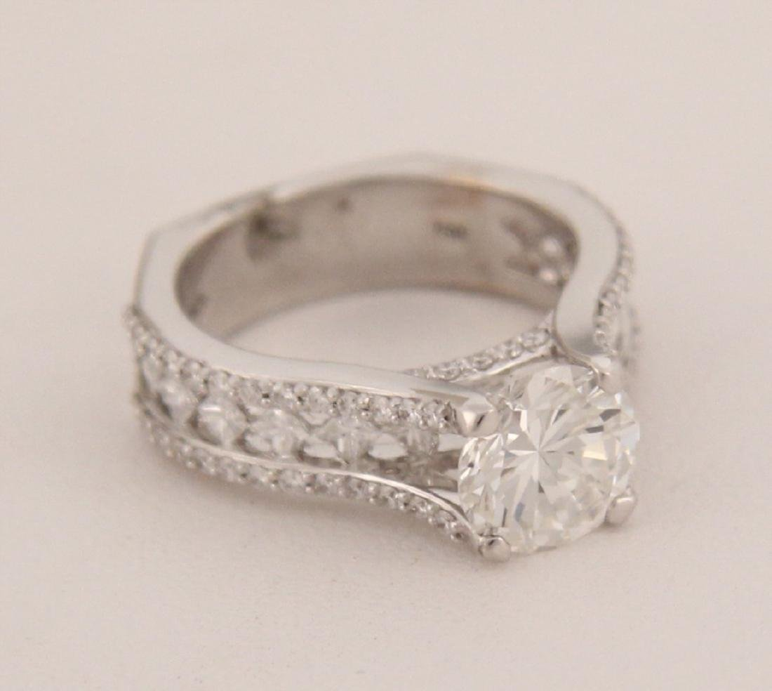 18K PETER STORM 2.04 CT DIAMOND RING, COLOR H, CLARITY