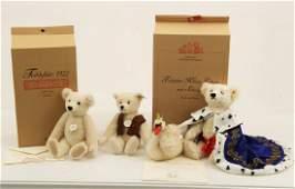 GROUP OF 3 LIMITED EDITION STEIFF TEDDY BEARS