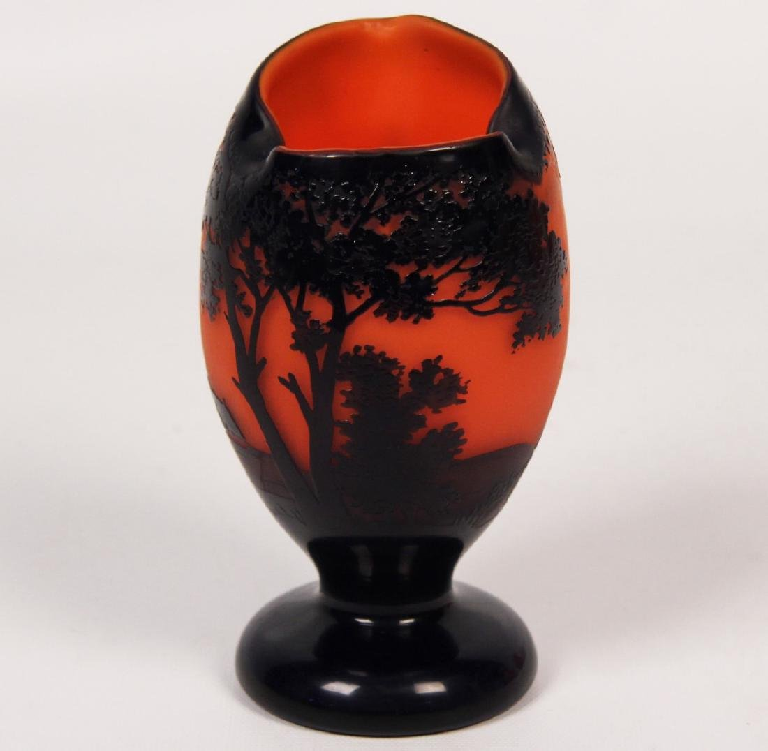 FRENCH CAMEO GLASS VASE