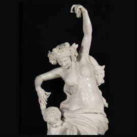ITALIAN MARBLE, THE DANCING LESSON, AS SEEN AT BILTMORE