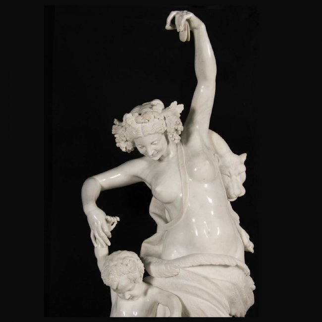 ITALIAN MARBLE, THE DANCING LESSON, AS SEEN AT BILTMORE