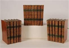 COMPLETE 18 VOLUME SET LEATHER BOUND BOOKS