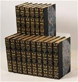 LOT OF 16 CONSECUTIVE LEATHER BOUND BOOKS