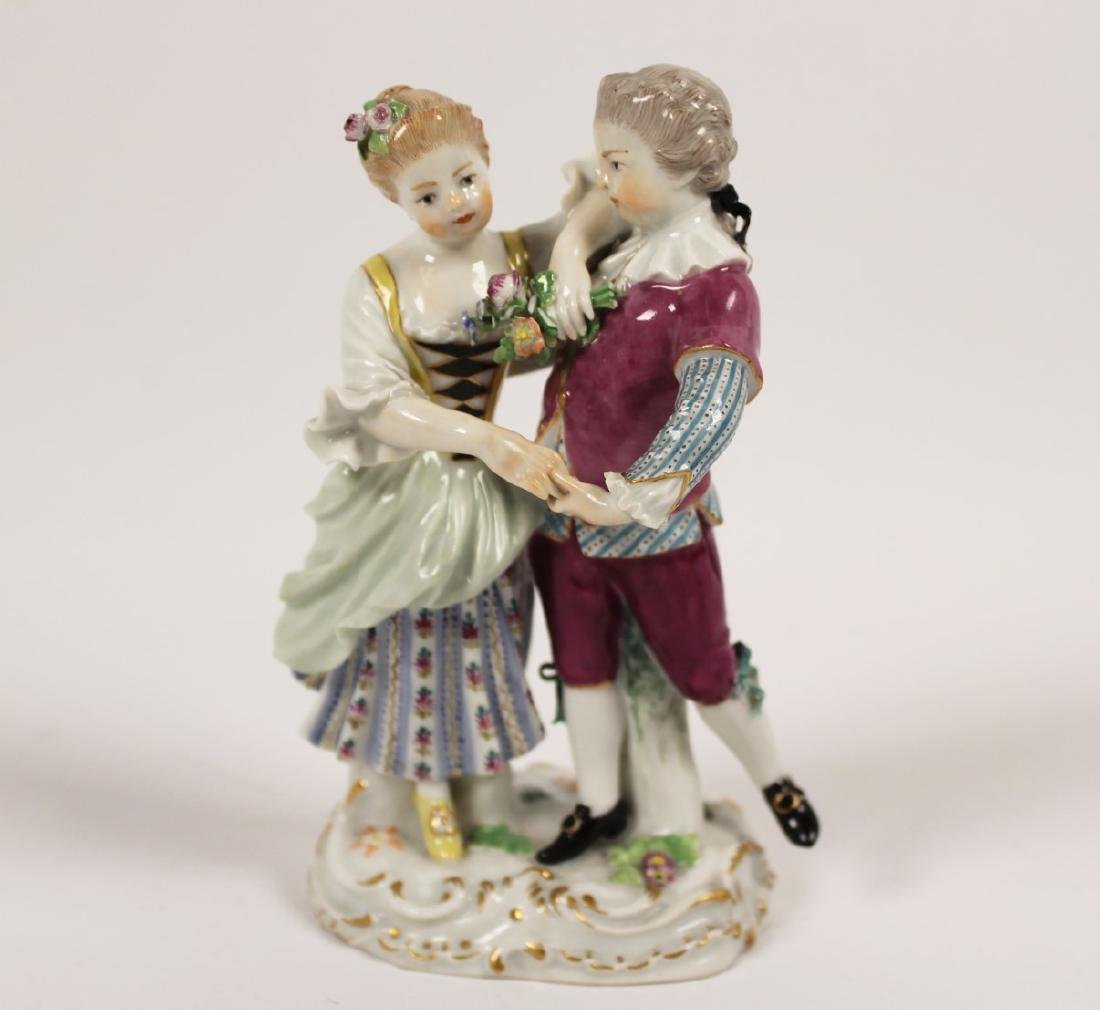 GERMAN MEISSEN FIGURE OF YOUNG COUPLE