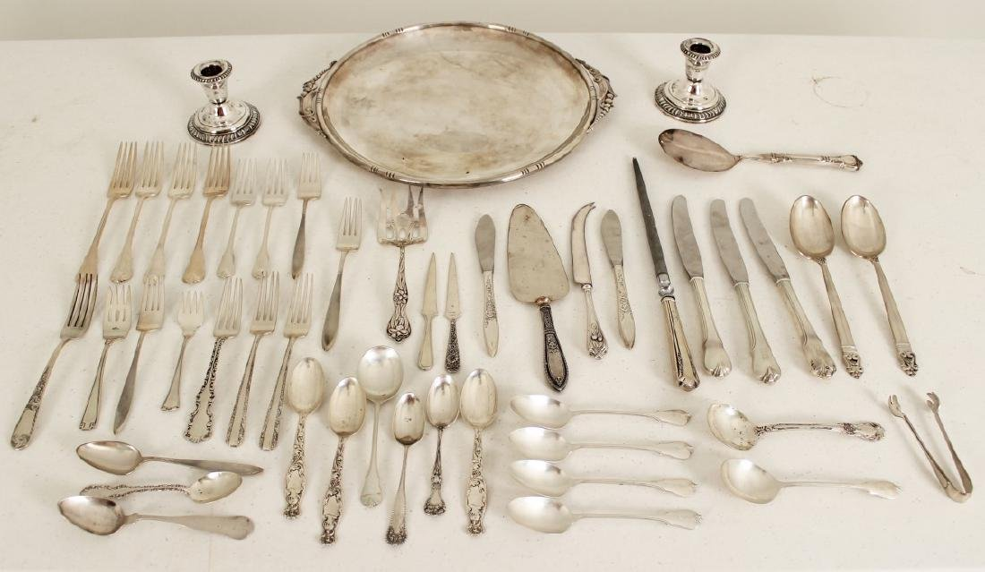 60.0 TROY OZS., MISC. LOT OF STERLING SILVER