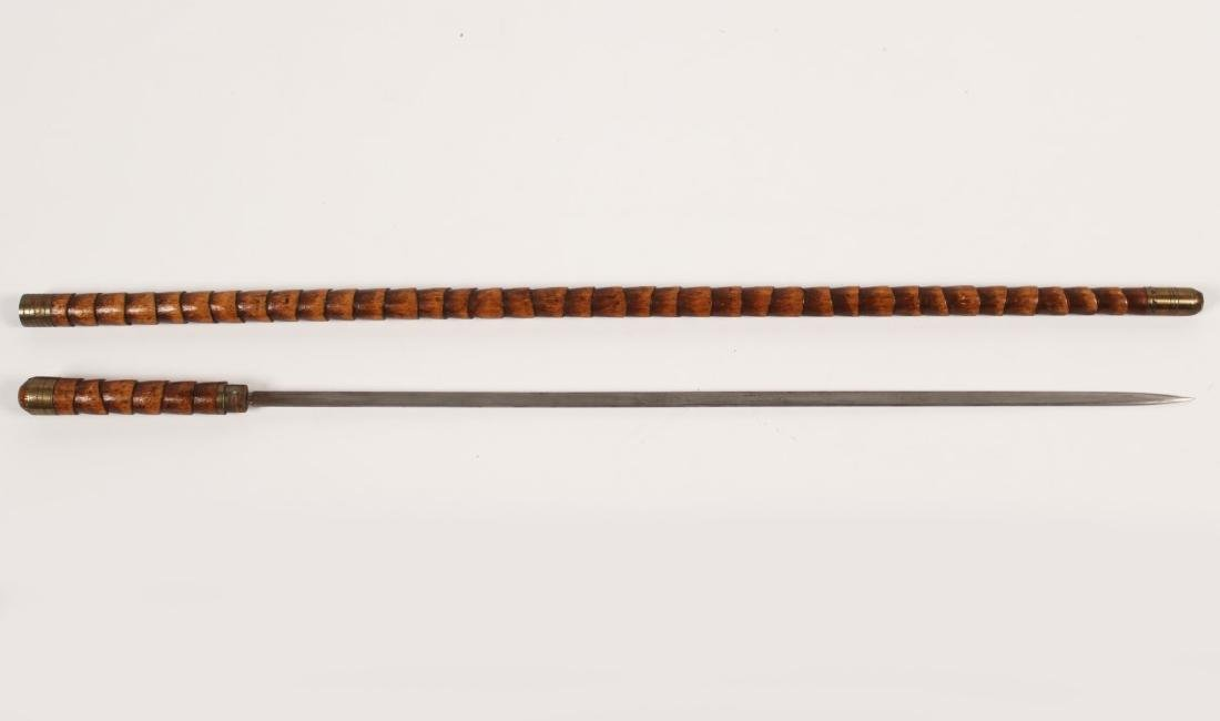 WOODEN CANE SWORD