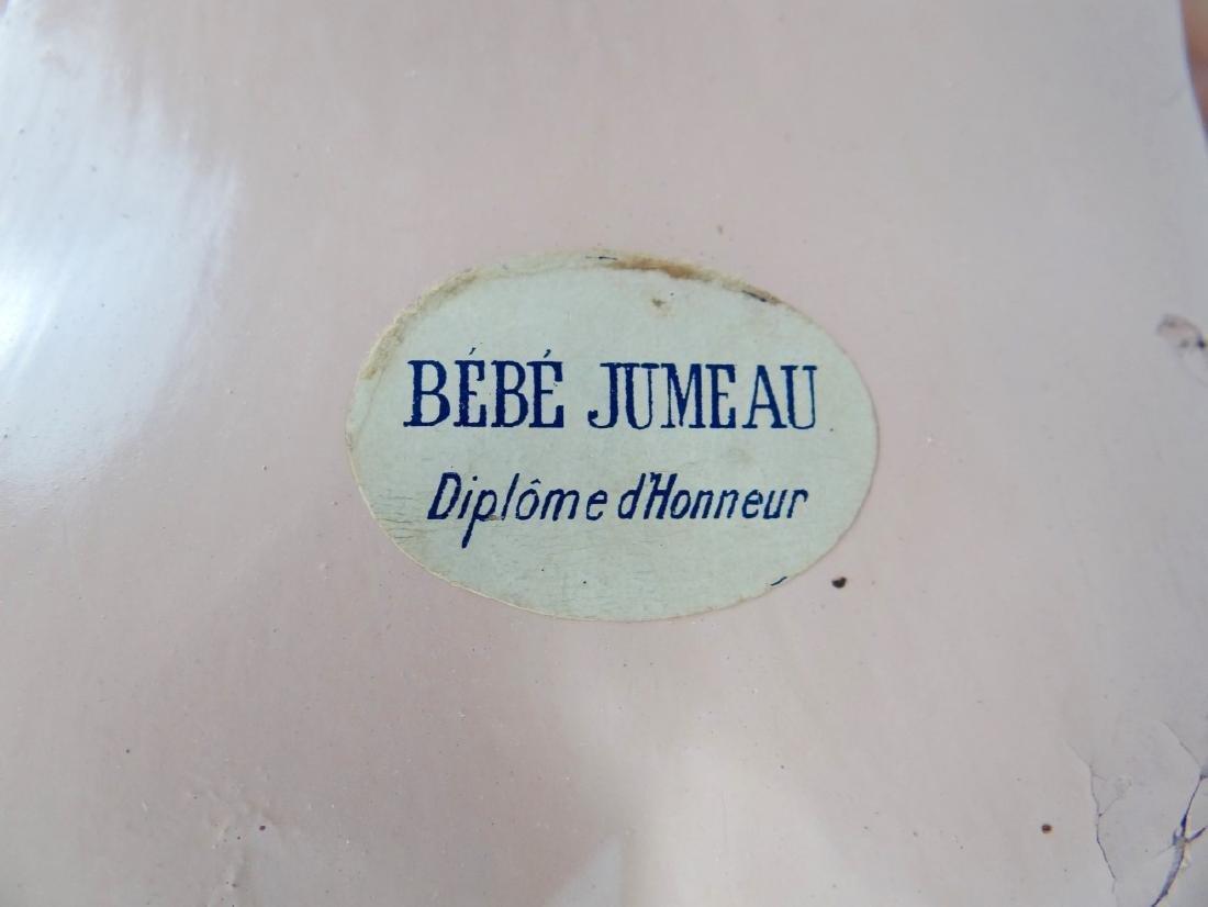 "FRENCH PORCELAIN ""BEBE JUMEAU"" DOLL - 6"