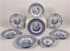 9 PC MISC. LOT OF ENGLISH PORCELAIN