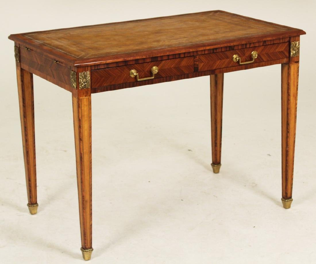 FRENCH 2 DRAWER WRITING TABLE