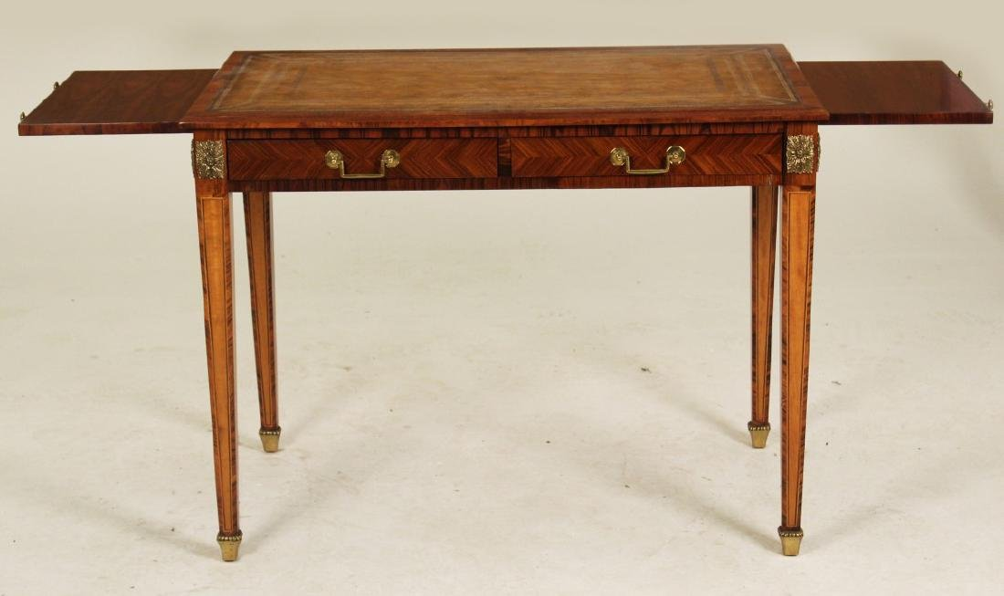 FRENCH 2 DRAWER WRITING TABLE - 3