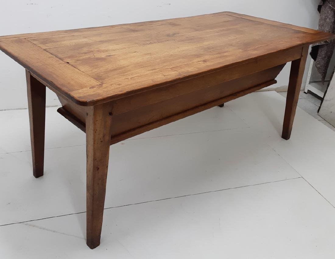EARLY PROVINCIAL LIFT TOP DOUGH BIN TABLE