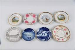MISCELLANEOUS LOT OF 8 PLATES