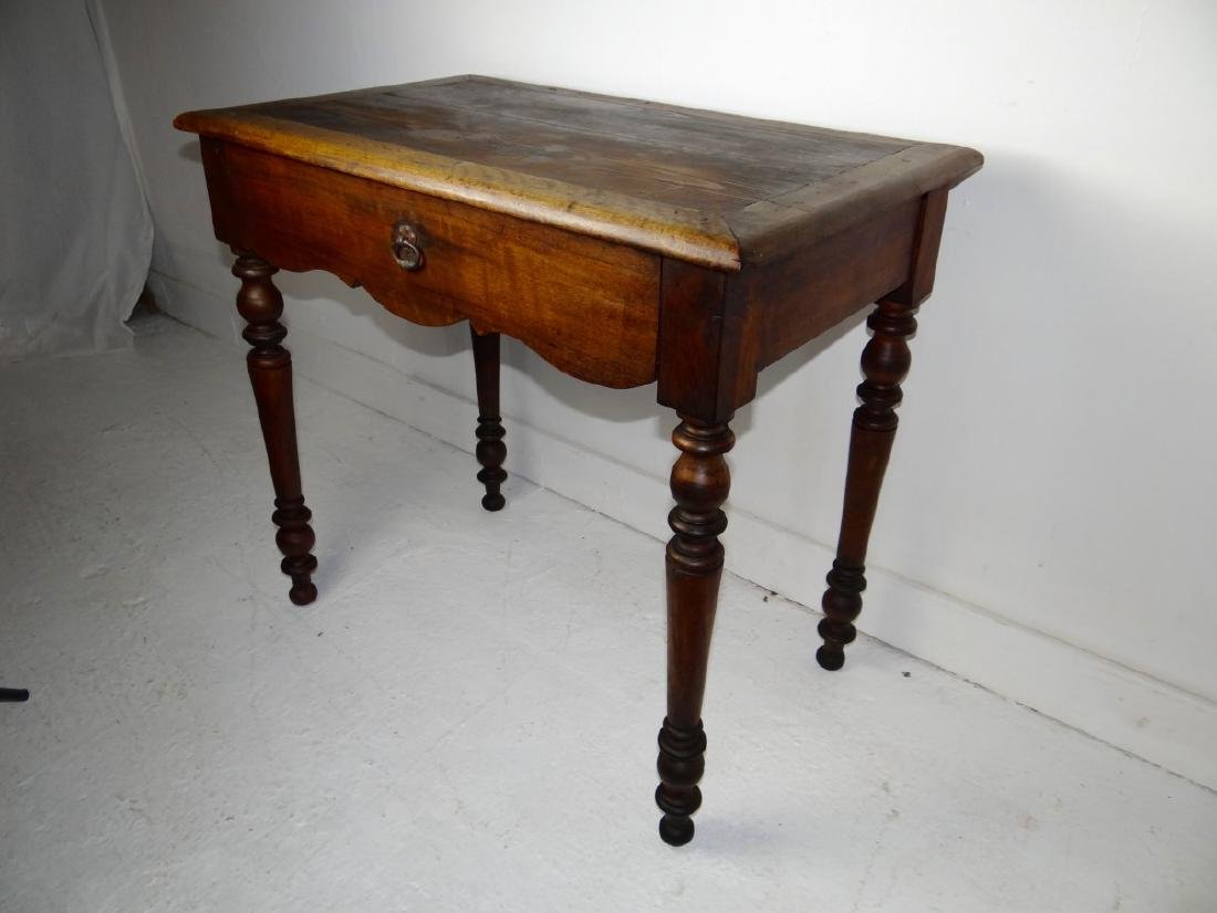 19TH C. PROVINCIAL FRUITWOOD TABLE