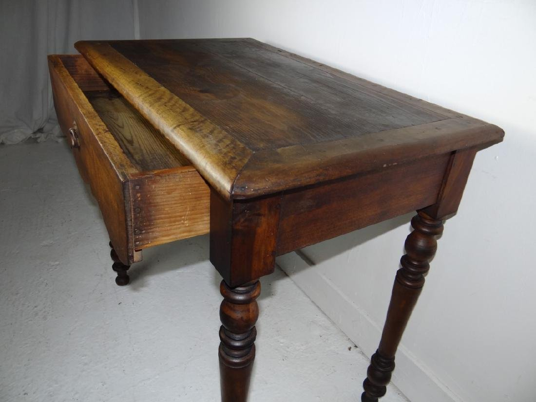 19TH C. PROVINCIAL FRUITWOOD TABLE - 2
