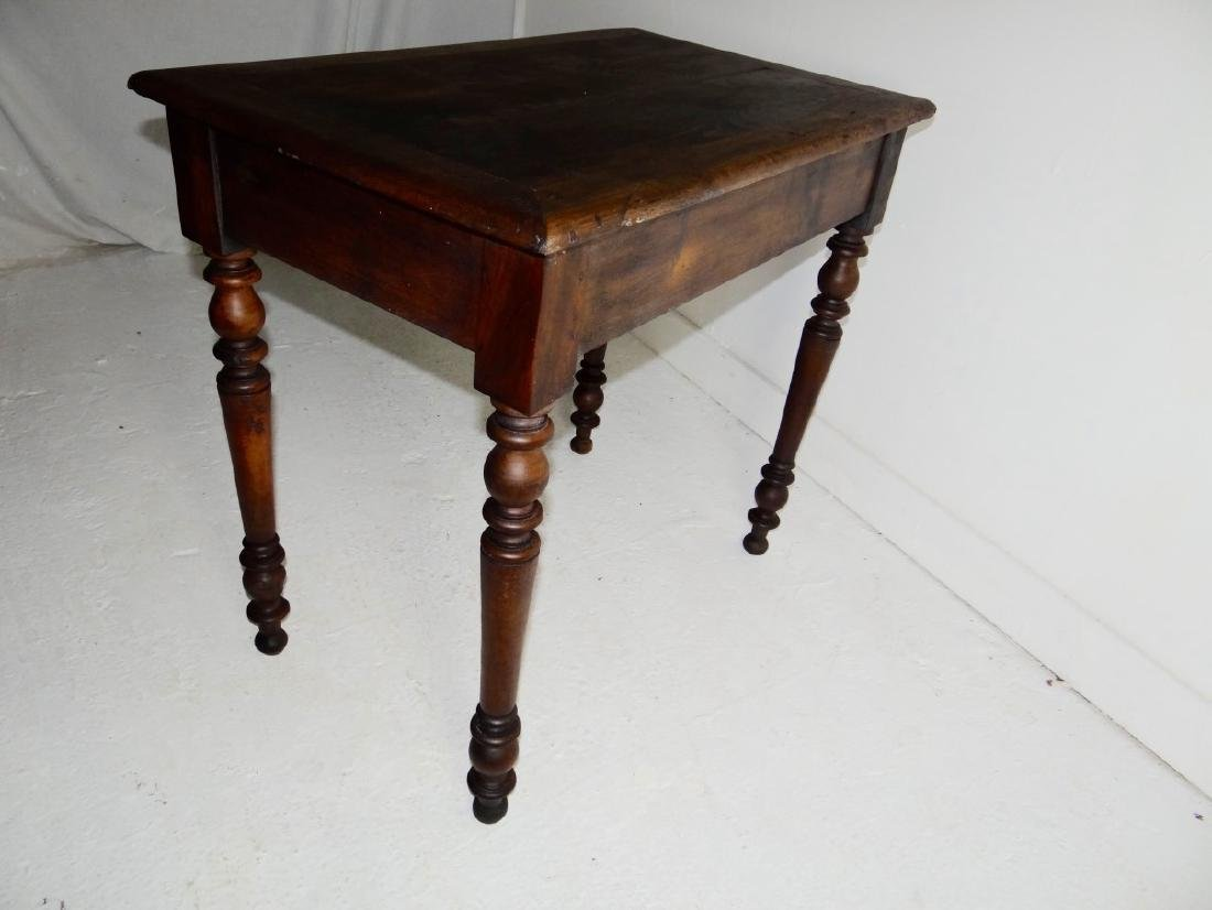 19TH C. PROVINCIAL FRUITWOOD TABLE - 3