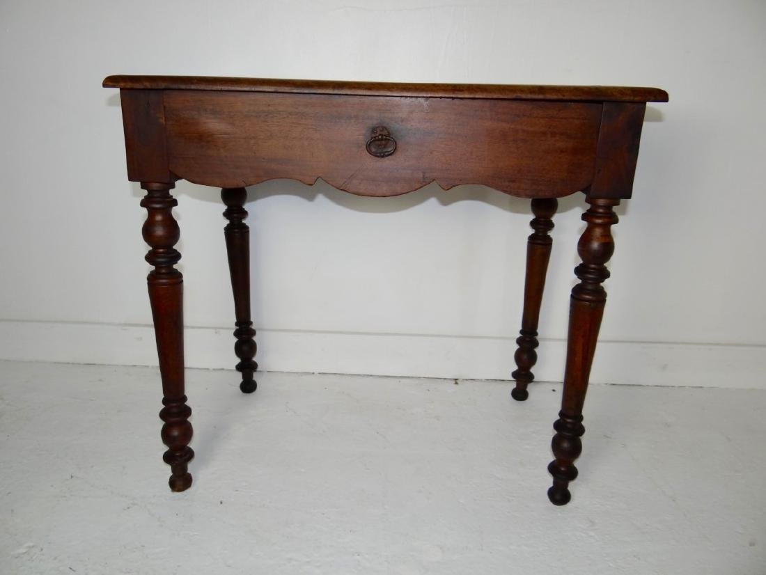 19TH C. PROVINCIAL FRUITWOOD TABLE - 4