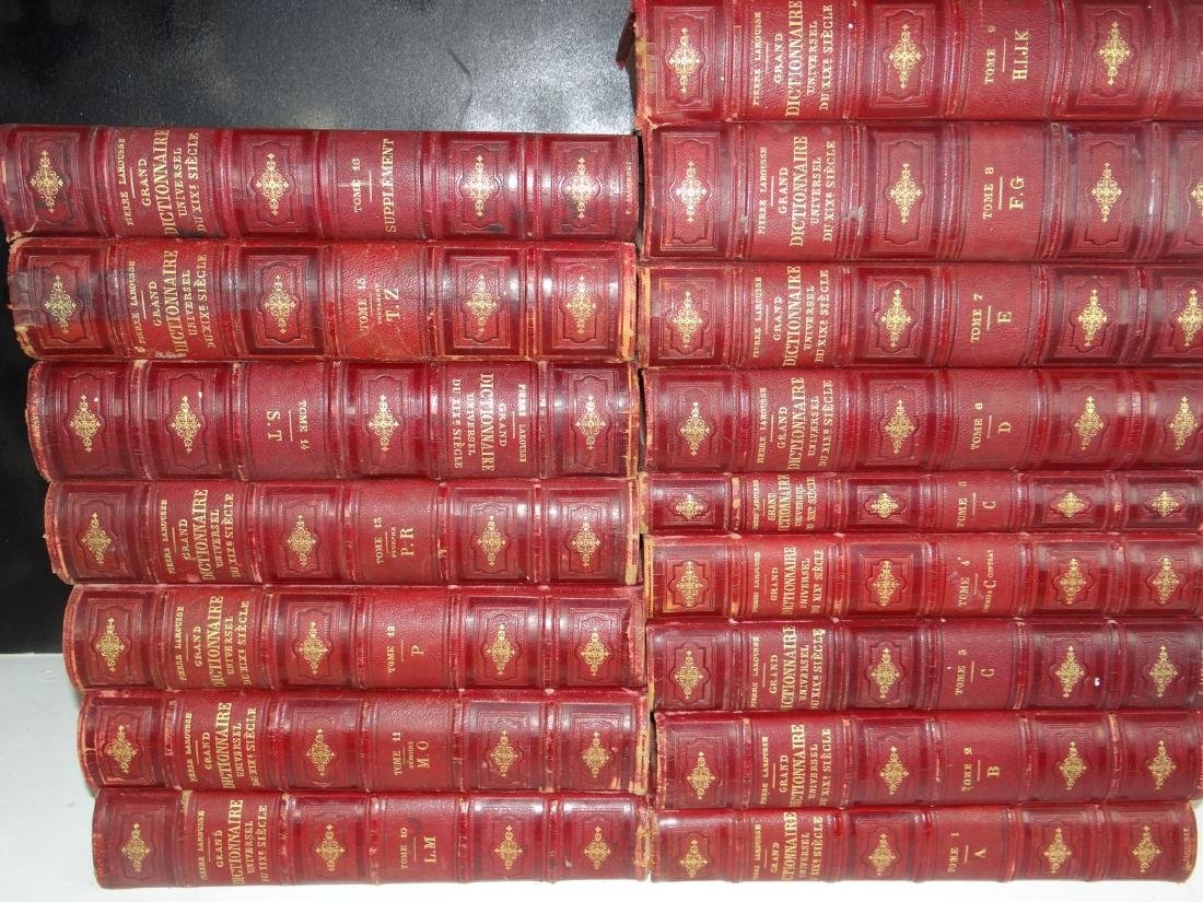 GROUP OF 49 MISC. LEATHER BOUND BOOKS - 2