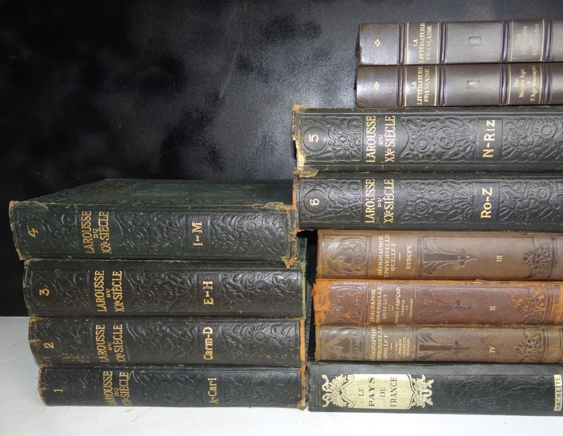 GROUP OF 49 MISC. LEATHER BOUND BOOKS - 6