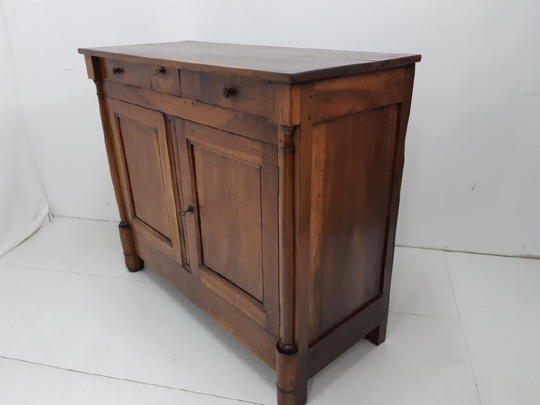 PROVINCIAL FRENCH WALNUT EMPIRE BUFFET