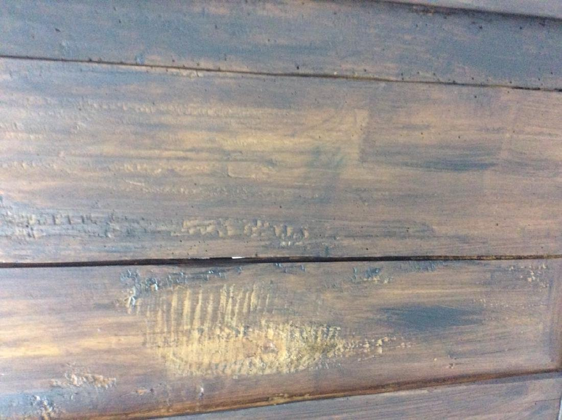 19TH C. LOUIS PHILIPPE WALNUT BOOKCASE CABINET - 9