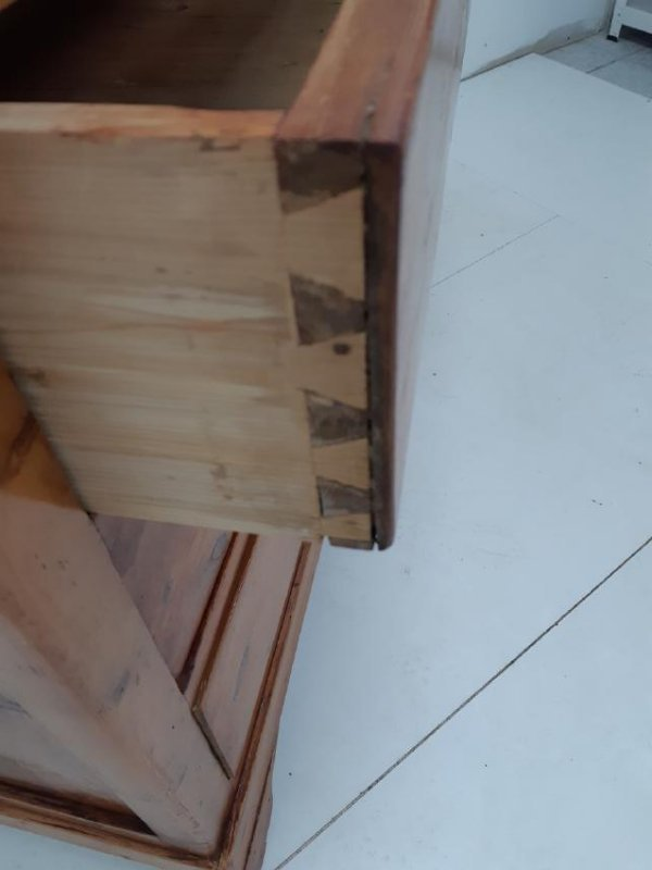 PROVINCIAL FRENCH PINE COTTAGE CHEST - 3