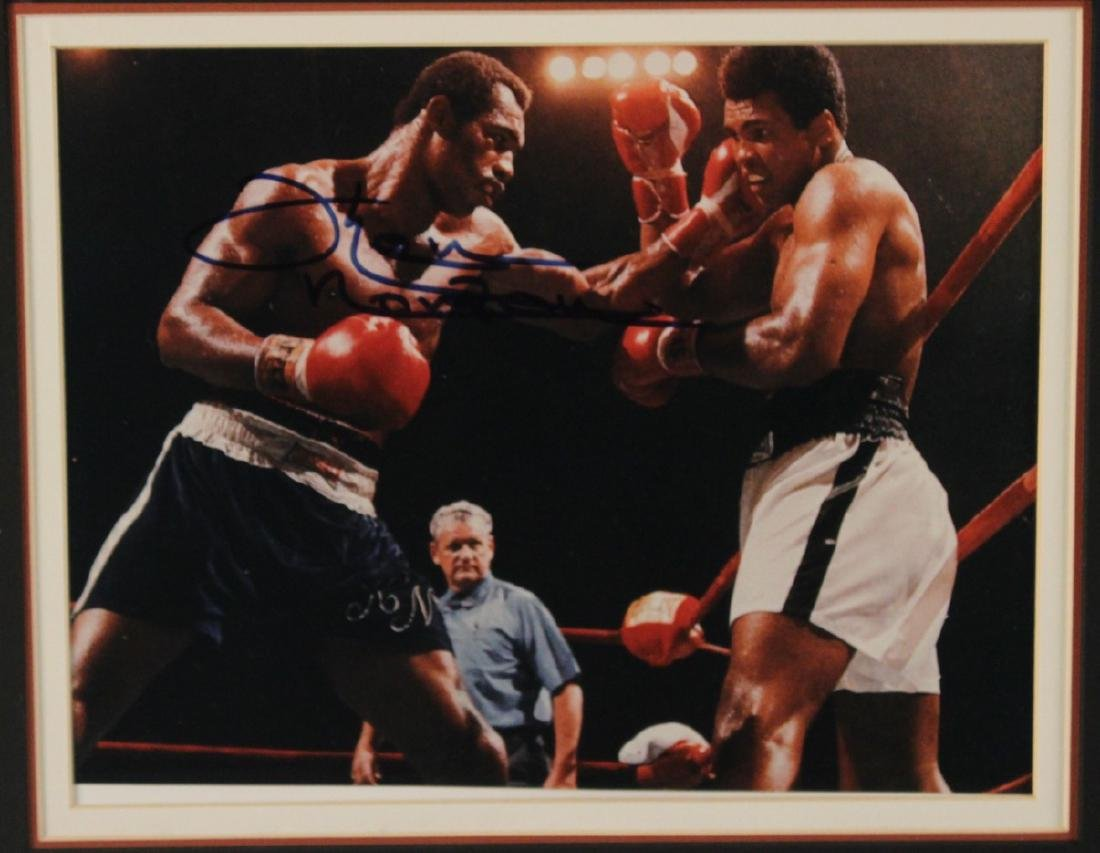 SIGNED KEN NORTON PHOTOGRAPH