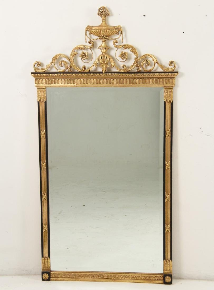 FRENCH REGENCY STYLE CARVED MIRROR