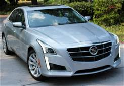 2014 CADILLAC CTS 2.0T, ONE OWNER, 1449 MILES