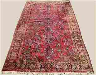 SEMI-ANTIQUE HANDMADE PERSIAN RUG 9' X 16' 8""