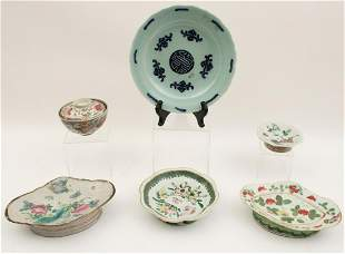 6 PC. LOT  OF CHINESE PORCELAIN