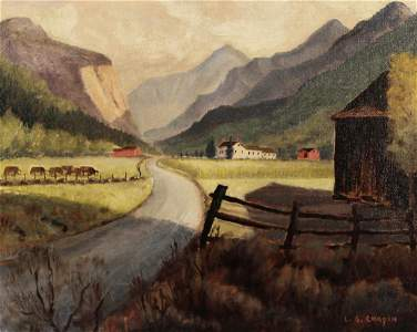 LESTER. G. CHAPIN, GREEN MOUNTAIN ROAD